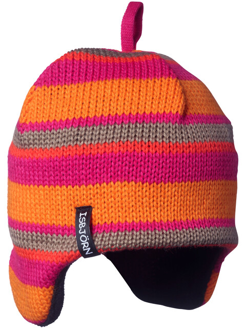 Isbjörn Stripes Knitted Cap Babies Lollypop